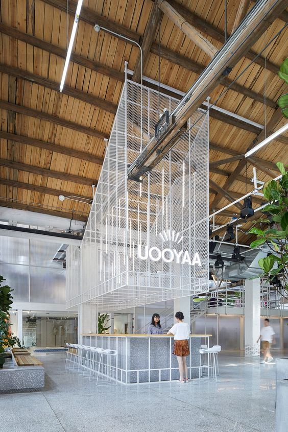 office-kantoor-retail-lobby-restaurant-bar-beton-concrete-strekmetaal-metal