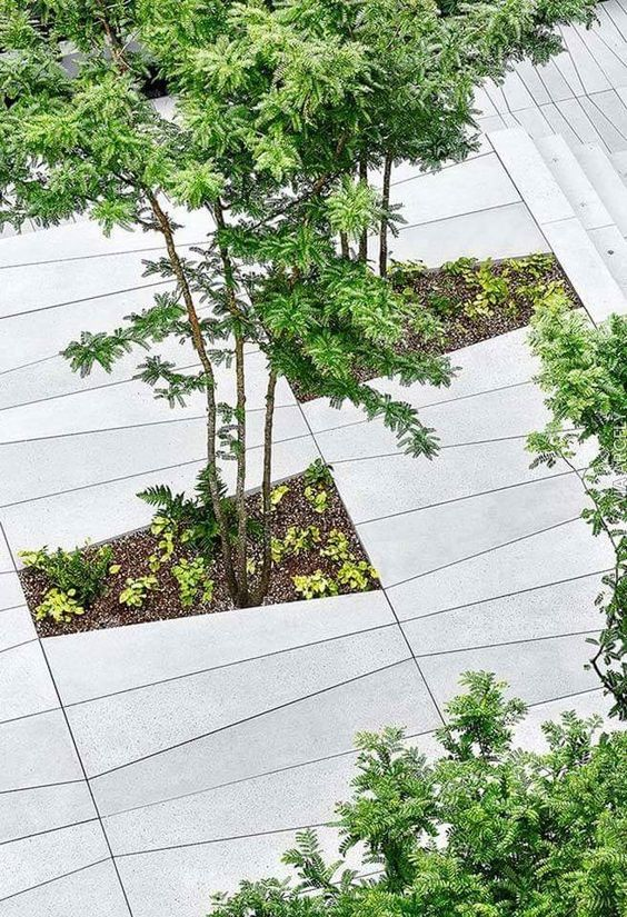 public space-publieke ruimte-floorscaping-betontegels