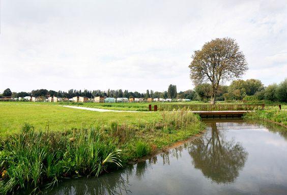 public space-publieke ruimte-landscape-landschapspark-brug-cortenstaal-waterloop