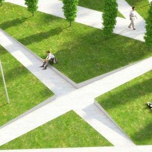 public space-publieke ruimte-square-plein-park-grasvelden