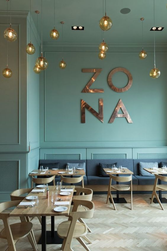 restaurant-retail-green-gold-wood-hout-goud-groen-gezellig-cosy